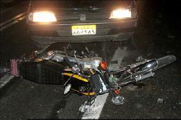فوری / مرگ یک نفر در تصادف خودرو نیسان و موتورسیکلت