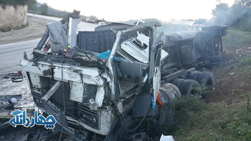 مرگ ۴۲۵ نفر در تصادفات جادهای مازندران