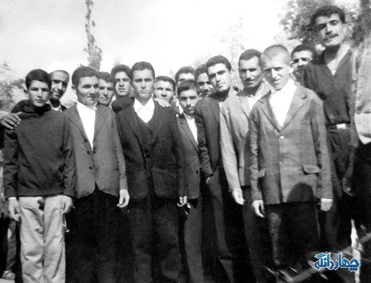 عکس تاریخی از ولویه بالا - سال ۱۳۴۰