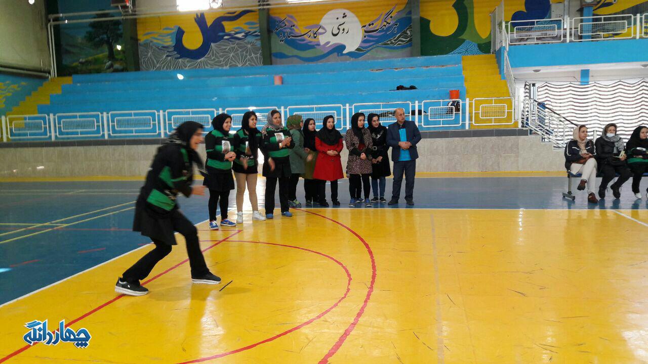تصاویر تمرین تیم بانوان چهاردانگه برای حضور در المپیاد ورزشی شهرستان ساری