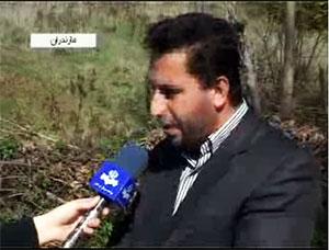 در پی بارش برف راههای روستایی بخش چهاردانگه مسدود است+تکمیلی