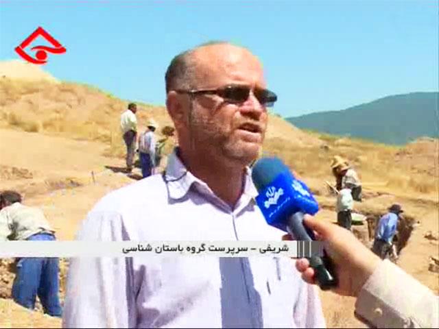 فیلم: گزارش تلویزیونی از گور دخمه های دوره اشکانی وستمین چهاردانگه