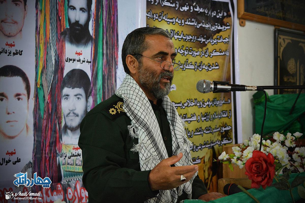 سردار کمیل کهنسال: اسراییل دیگر هیچ تهدیدی برای ما نیست