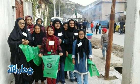 پاکسازی انجمن دوستداران زمین پاک کیاسر در تاسوعا و عاشورا+تصاویر