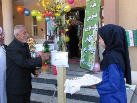 نواخته شدن زنگ بازگشایی مدارس چهاردانگه، همزمان با سراسر کشور