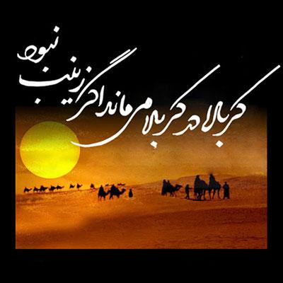 ( آشنای غربت دشت بلا ) شعری در رثای حضرت زینب(س)