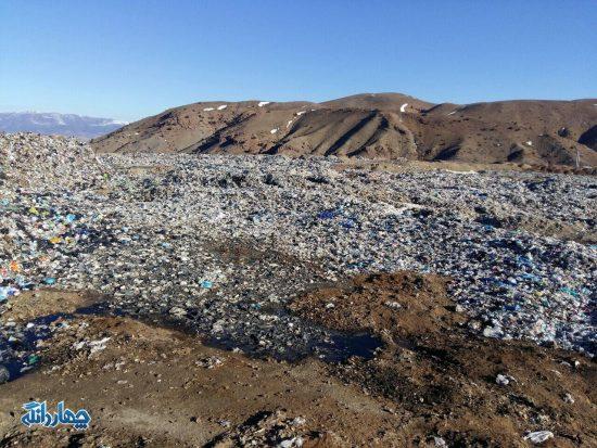 گزارش تصویری از بازدید بخشدار چهاردانگه از محل دپو زباله ساری در پشتکوه