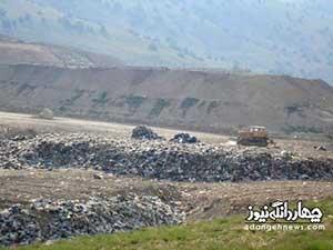 از دریا تا جنگل، محل تخلیه زباله های شهری در مازندران